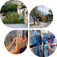 Cicle Rizoma [Tejedores URBANOS] al barri Sagrada Família