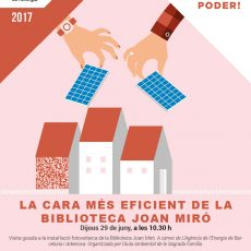 Visita les instal·lacions energètiques de la Biblioteca Joan Miró