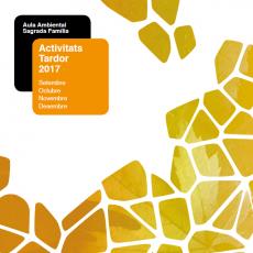 Nova programació d'activitats Tardor 2017