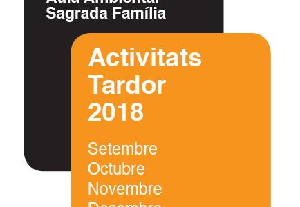 Nou programa Tardor 2018