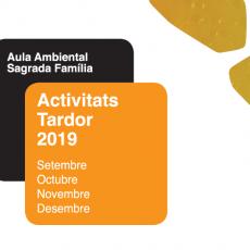 Nou Programa d'activitats Tardor 2019